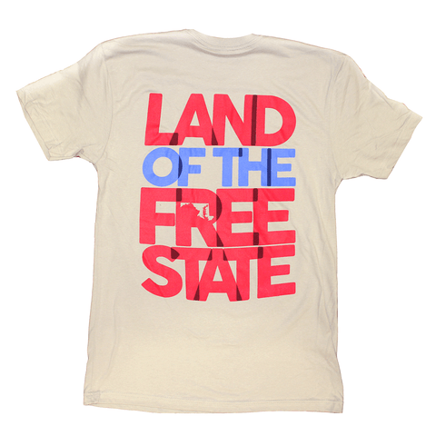 Land of the Free State (Grey) / Shirt
