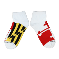 Maryland Flag / Ankle Socks