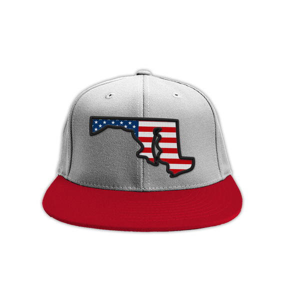 USA State of Maryland (Grey) / Hat