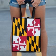 Maryland Flag / Reusable Shopping Bag