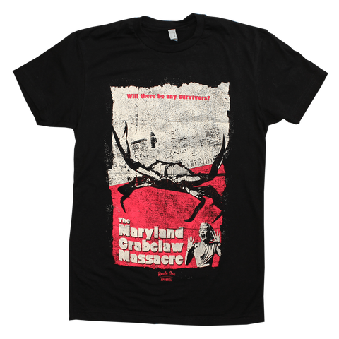 The Maryland Crabclaw Massacre (Black) / Shirt