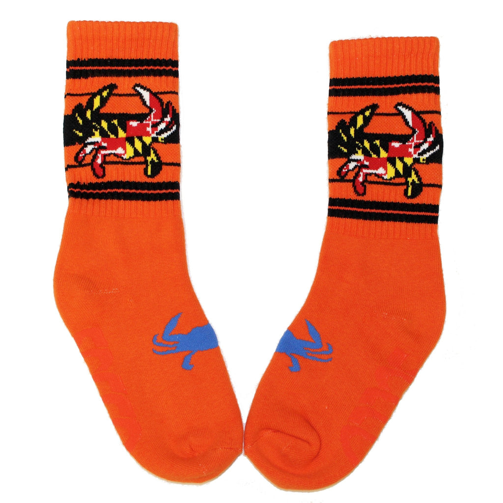 Maryland Flag Crab (Orange) / Crew Socks