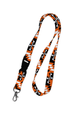 Baltimore Maryland Flag (Black & Orange) / Lanyard - Route One Apparel