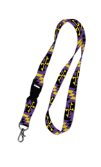 Baltimore Maryland Flag (Purple & Gold) / Lanyard - Route One Apparel