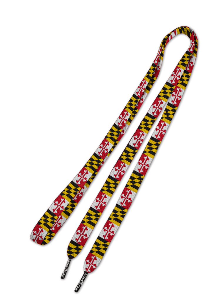 5d24125488c3 Maryland Flag Shoe Laces – Route One Apparel