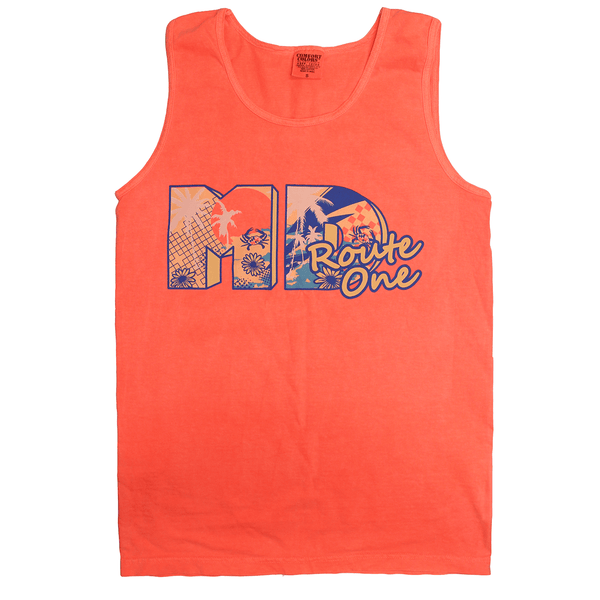 MD Retro Summer (Neon Grapefruit) / Tank