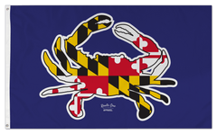 Maryland Full Flag Crab (Navy) / Flag