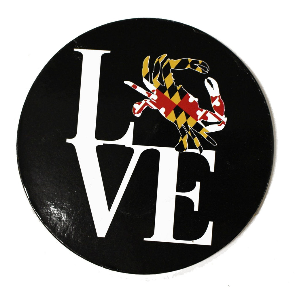 Maryland Crabby Love / Cork Coaster