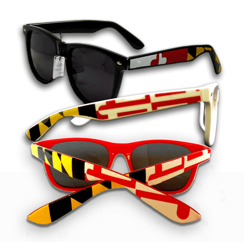 Maryland Flag / Shades *3 PAIR BUNDLE*