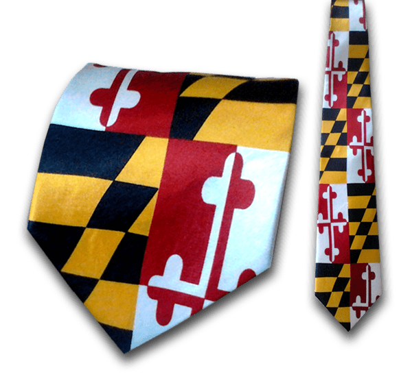 Maryland Flag Tie Route One Apparel