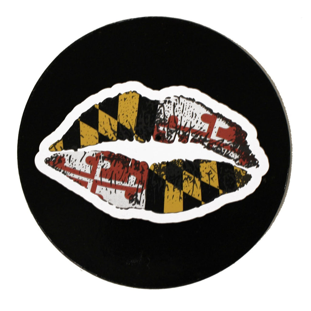 Maryland Kiss / Cork Coaster