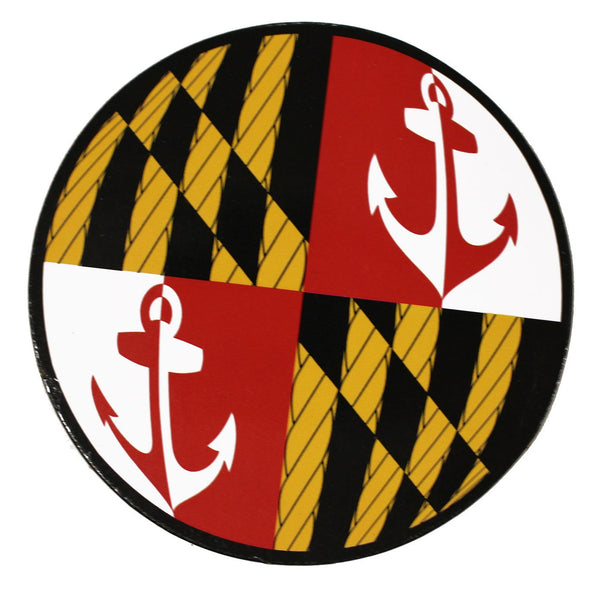 Maryland Nautical Flag Periscope / Cork Coaster