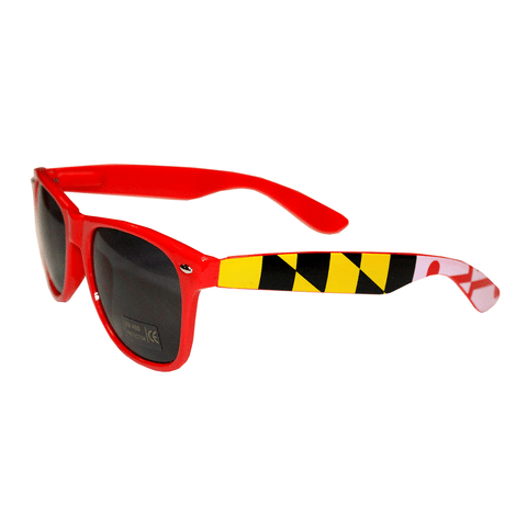 Red Maryland Flag / Shades