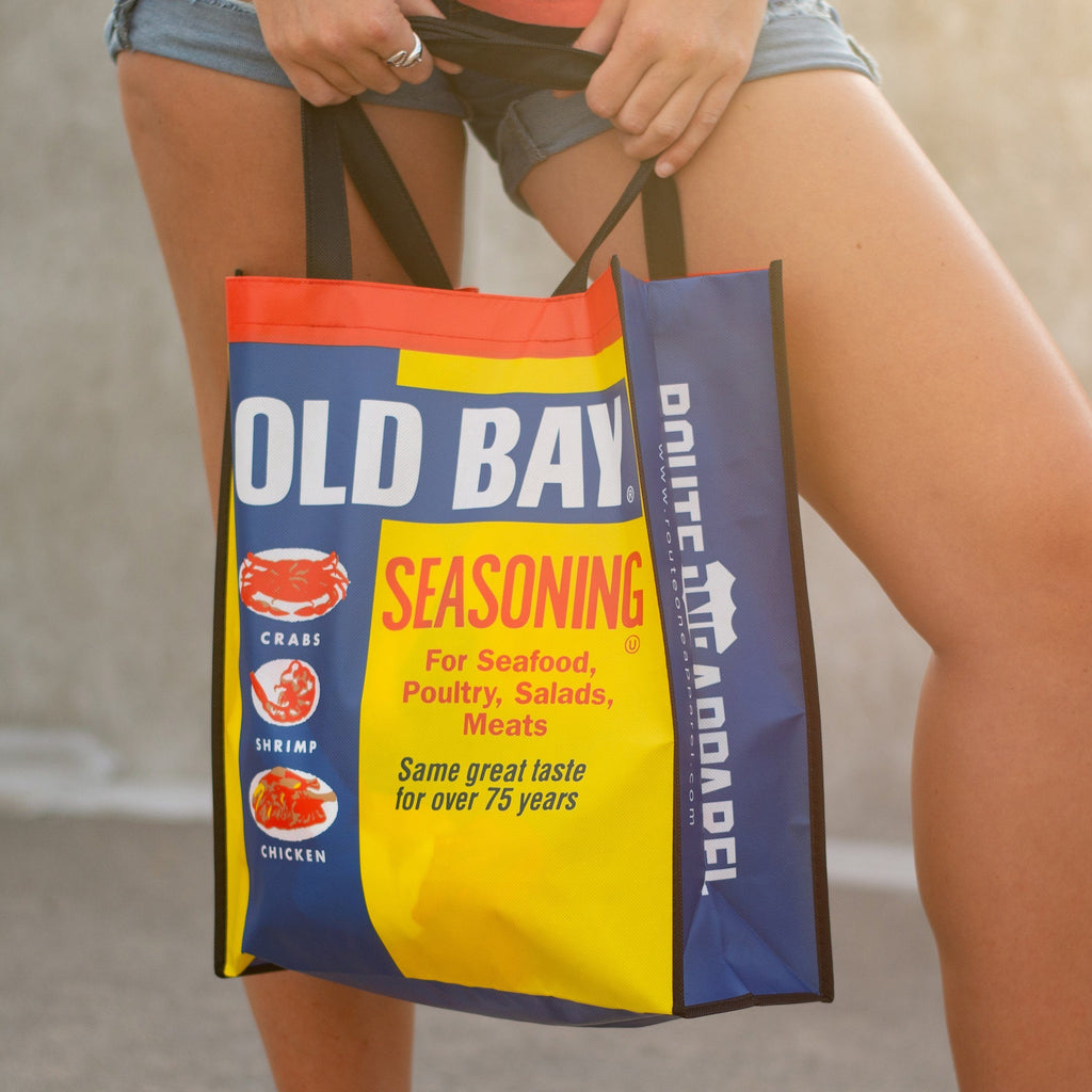 *PRE-ORDER* Old Bay Can / Reusable Shopping Bag (Estimated Ship Date: 8/20) - Route One Apparel