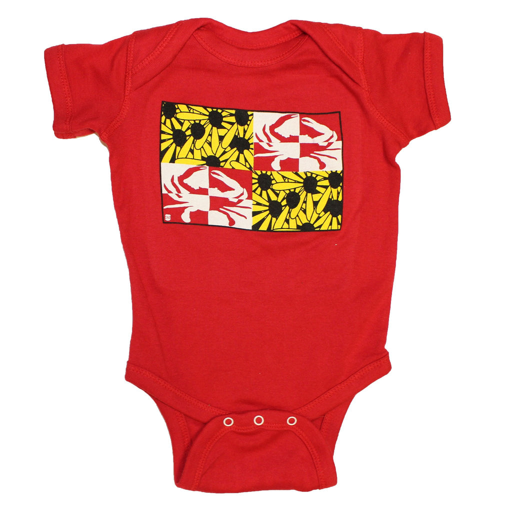 Crabby Susan (Red) / Baby Onesie