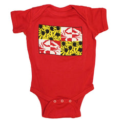 Crabby Susan (Red) / Baby Onesie - Route One Apparel