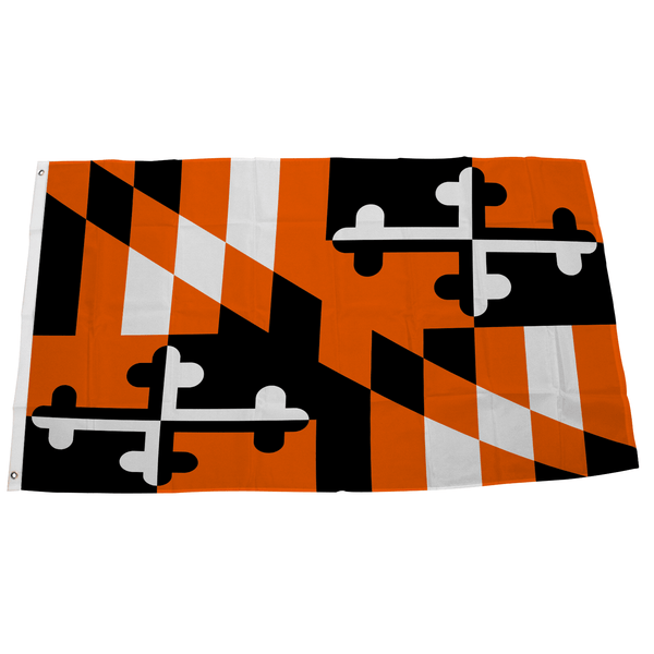 Maryland Flag Black & Orange / Flag