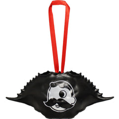Natty Boh Logo (Black) / Crab Shell Ornament