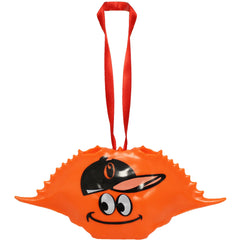 Baltimore Baseball Crab (Neon Orange) / Crab Shell Ornament - Route One Apparel