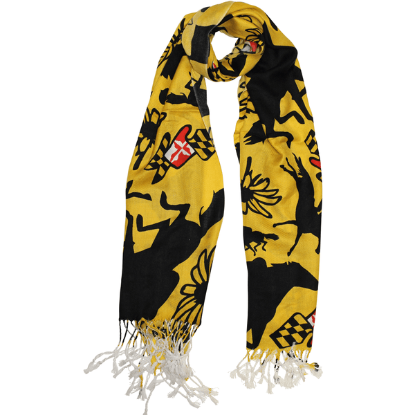 Maryland Horse Racing (Gold) / Scarf