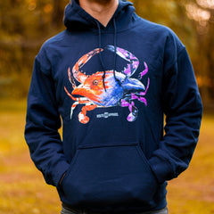 Baltimore Birds Crab (Navy) / Hoodie
