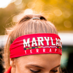 University of Maryland Terrapins Athletic (Red) / Headband