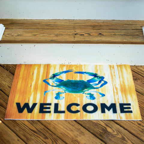 Blue Crab Welcome / Door Mat