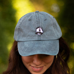 Natty Boh Logo (Washed Denim) / Baseball Hat