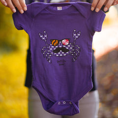 Fun Crab Disguise (Purple) / Baby Onesie