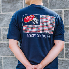 Boh Say Can You See (Navy) / Shirt - Route One Apparel