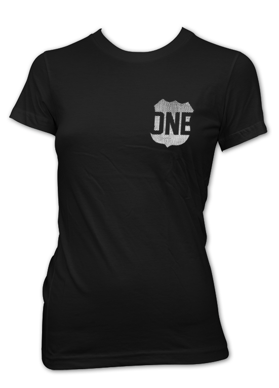 Route One Apparel Classic Flag & Crab (Black) / Women's Shirt