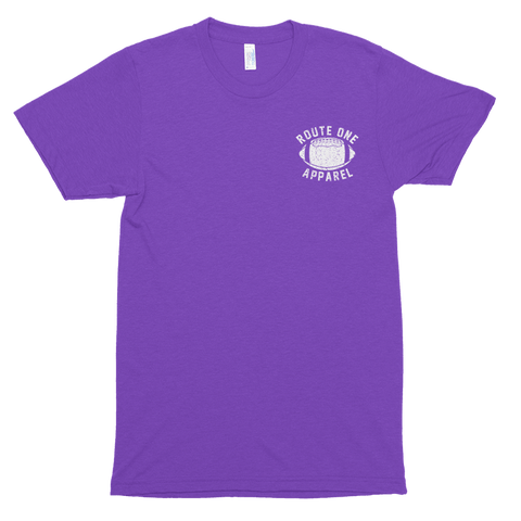 Baltimore Football Home Team Crab *Back Print* (Purple) / Shirt - Route One Apparel