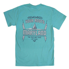 *PRE-ORDER* Remember Your Roots, Maryland (Chalky Mint) / Shirt (Estimated Ship Date: 4/3)