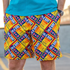Full Old Bay Can Pattern / Running Shorts (Men)