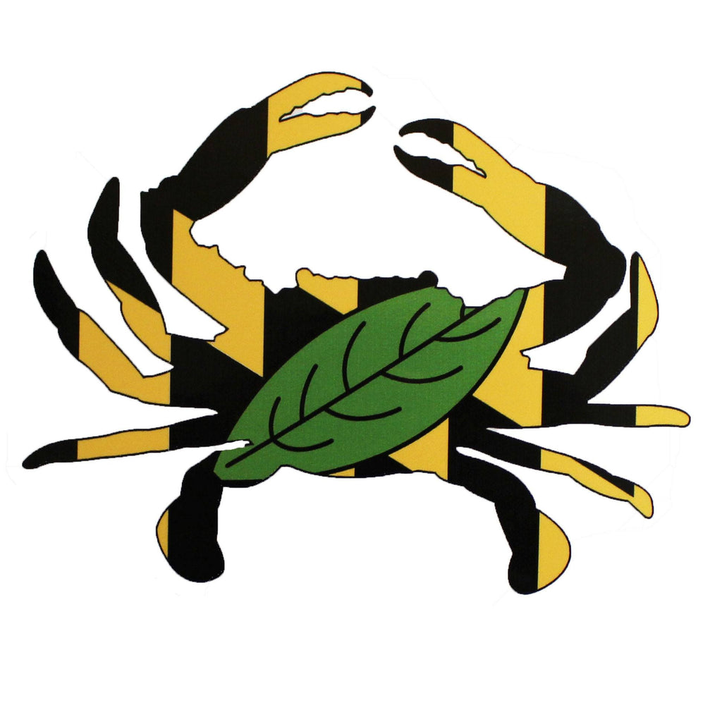 Calvert County Crab / Sticker - Route One Apparel