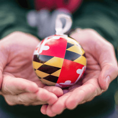 Maryland Flag / Ornament