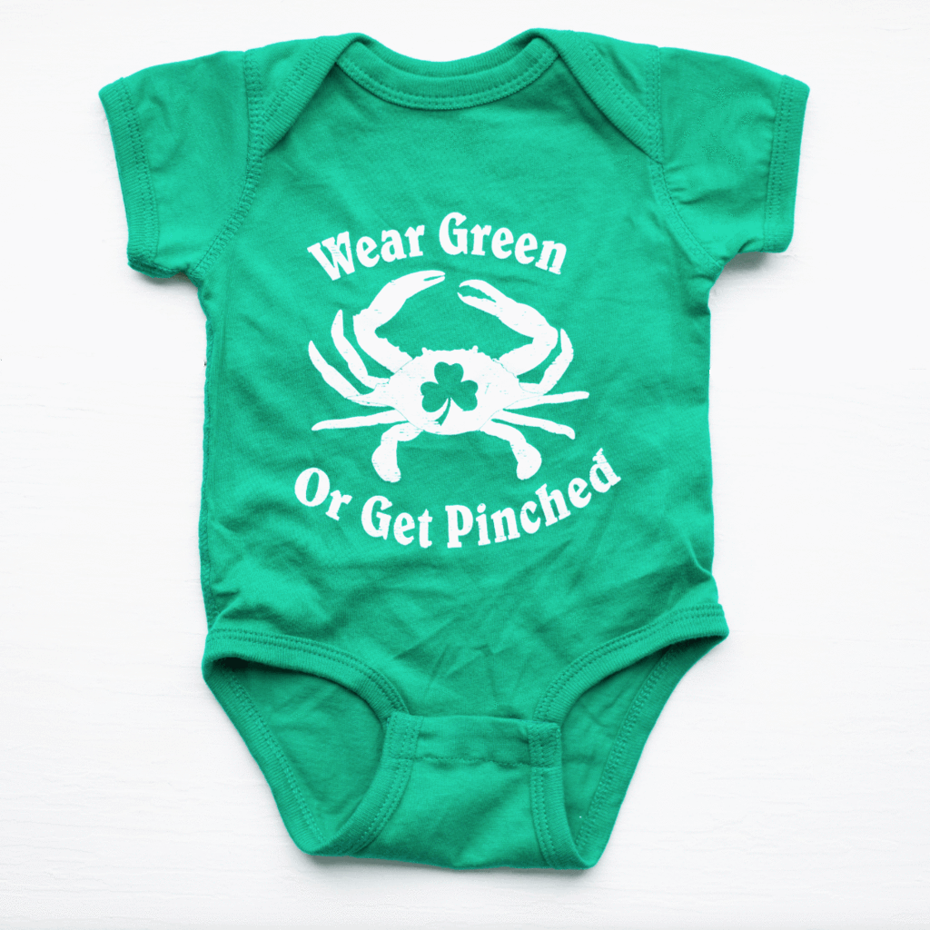 7cf702553 Wear Green or Get Pinched (Green) / Baby Onesie – Route One Apparel