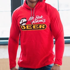 Mr. Boh Knows Beer (Red) / Terry Hoodie