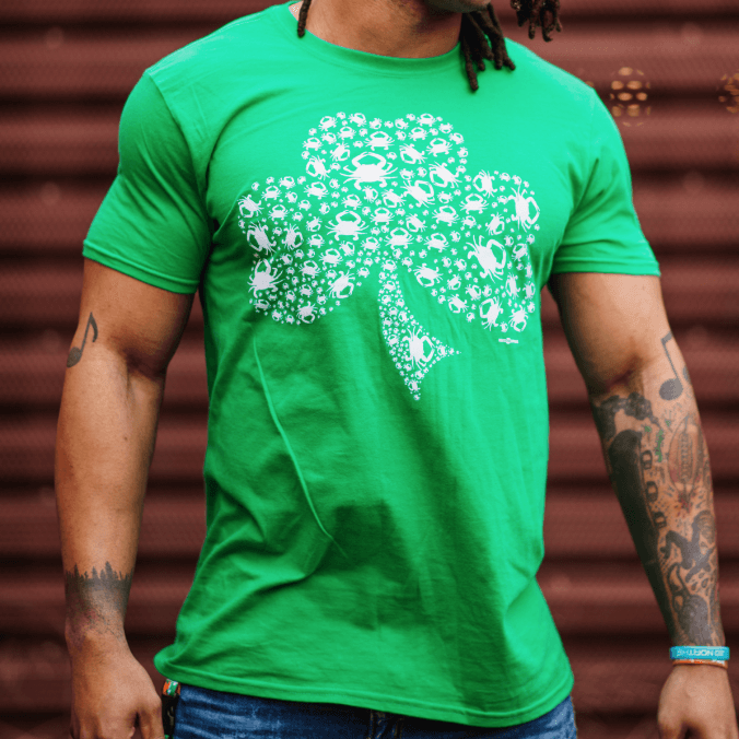 01ed38a75 Crab Shamrock / Shirt – Route One Apparel