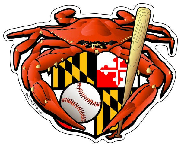 Oriole Sports Crab / Sticker