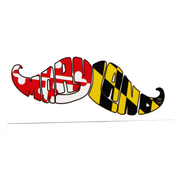 Maryland Boh Mustache / Sticker