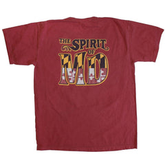 *PRE-ORDER* The Spirit of Maryland (Crimson) / Shirt (Estimated Ship Date: 4/3)