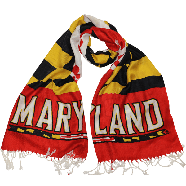 UMD Maryland Athletic & Maryland Flag / Scarf