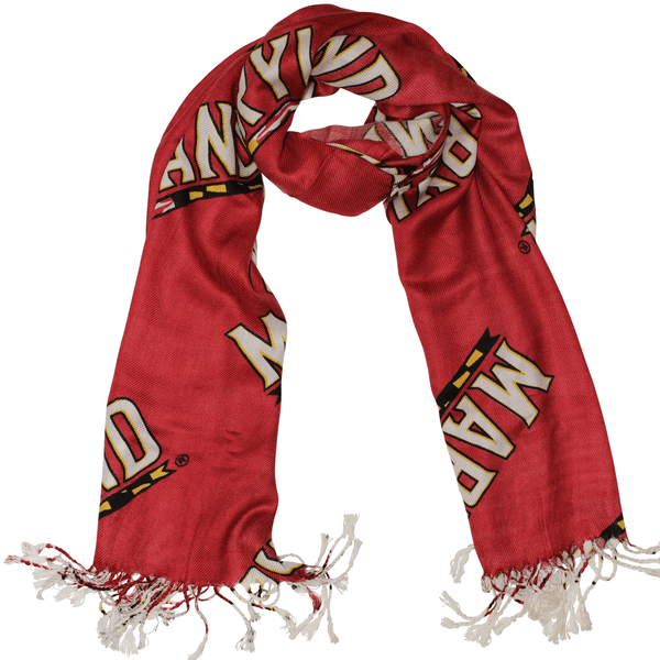 University of Maryland Athletic (Red) / Scarf