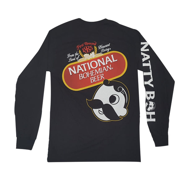 National Bohemian Beer Signature Classic (Black) / Long Sleeve Shirt