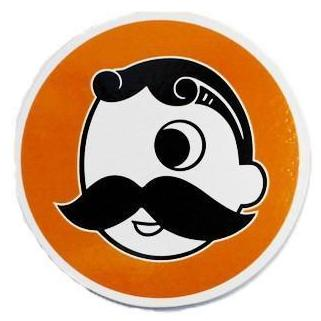 Natty Boh (Orange) / Cork Coaster