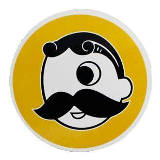 Natty Boh (Yellow) / Cork Coaster