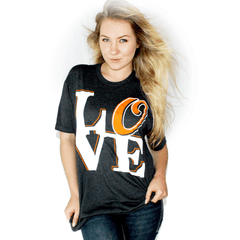 Baltimore LOVE (Charcoal Grey) / Shirt - Route One Apparel