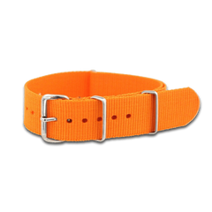 Baseball Inspired (Orange) / Watch Strap - Route One Apparel