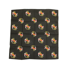 Maryland Flag Crab (Black) / Bandana (22 x 22 inch)